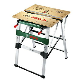 【送料無料】ボッシュ(BOSCH) PWB600 [ワークベンチ] 作業台 DIY プロ仕様 日曜大工 工作台 丈夫 移動簡単 収納簡単 軽量 折りたたみ式 コンパクト 木工作業