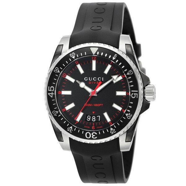 【送料無料】GUCCI(グッチ) YA136303 ダイヴ [クォーツ腕時計 (メンズ)]
