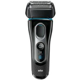 【送料無料】BRAUN(ブラウン) 5147s シリーズ5 [シェーバー(3枚刃・充電式)] 髭剃り ブラック 防水 お風呂剃り対応 水洗い可能 往復式 急速充電 キワ剃り 電池残量表示 3Dヘッド 父の日 優しい深剃り