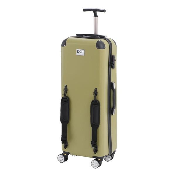 【送料無料】DOD CC1-514 カーキ キャンパーノ・コロコーロ [スーツケース(58L/TSAロック搭載)]