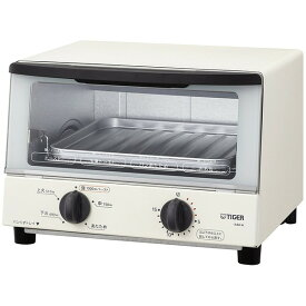 TIGER KAK-A100-W ホワイト やきたて [オーブントースター(1000W)]