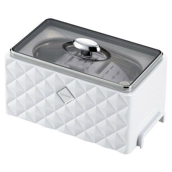 【送料無料】超音波洗浄機 ツインバード TWINBIRD EC-4548W 洗浄器 アクセサリー 貴金属 メンテナンス 腕時計 眼鏡