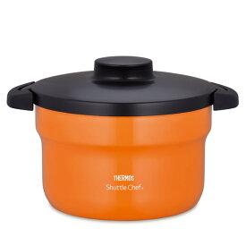 THERMOS KBJ-3000 OR オレンジ シャトルシェフ [真空保温調理器(2.8L/3〜5人用)]