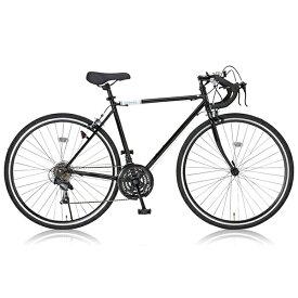 【送料無料】Grandir Sensitive ブラック [ロードバイク(700×28C・シマノ21段変速・フレーム520mm)]【同梱配送不可】【代引き・後払い決済不可】【沖縄・北海道・離島配送不可】自転車 通勤 通学 学生 スポーツバイク アウトドア