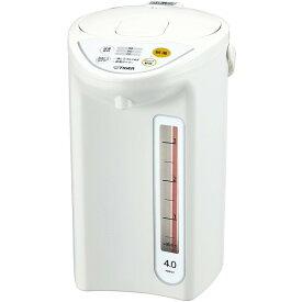 【送料無料】タイガー(TIGER) 電気ポット PDR-G401-W 節電 省スチーム ホワイト [マイコン電動ポット (4.0L)]