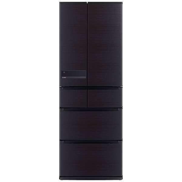 【送料無料】MITSUBISHI MR-JX52C-RW ロイヤルウッド 置けるスマート大容量 JXシリーズ [冷蔵庫 (517L・フレンチドア)]