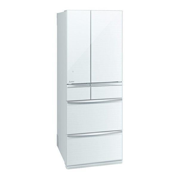 【送料無料】MITSUBISHI MR-MX57D-W クリスタルホワイト 置けるスマート大容量 MXシリーズ [冷蔵庫(572L・フレンチドア)]