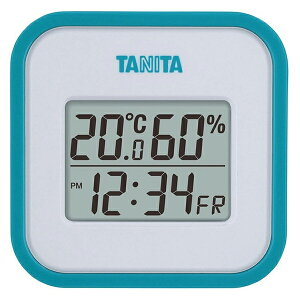 TANITA TT-558-BL ブルー [デジタル温湿度計] タニタ 温度計 湿度計 部屋 室内 温度調整 熱中症対策