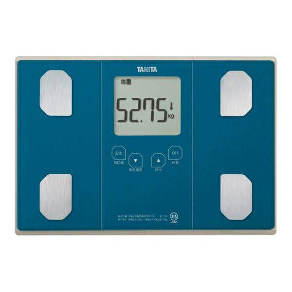 【送料無料】タニタ 体重計 BC-314-BL メタリックブルー TANITA BC314 体組成計 体脂肪計 敬老の日 プレゼントにおすすめ 健康 ダイエット 測定 計測 肥満 予防 測定継続 立てかけ収納 BC-315 BC314BL