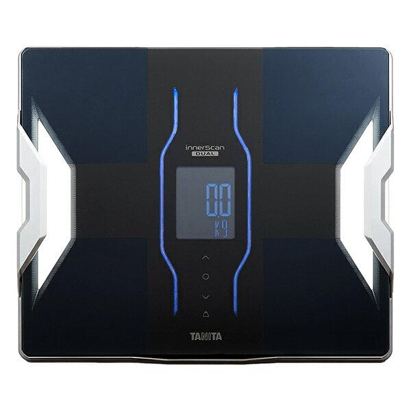 【送料無料】タニタ 体重計 RD-906-BK ブラック インナースキャンデュアル TANITA RD906 スマホ対応 アプリ 体組成計 体脂肪計 日本製 バックライト Bluetooth iphone Android 推定骨量 筋肉量 内臓脂肪