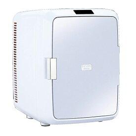 ツインバード TWINBIRD HR-DB08GY グレー 2電源式コンパクト電子保冷保温ボックス 冷温庫 温冷庫 20L 静音 小型 保冷庫 保温庫 AC100V/DC12V対応 車載 アウトドア 寝室 ペルチェ式
