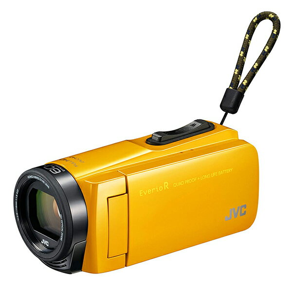 【送料無料】JVC (ビクター/VICTOR) GZ-R470-Y マスタードイエロー [フルハイビジョンメモリービデオカメラ(32GB)(フルHD)] Everio R(エブリオ) 約5時間連続使用のロングバッテリー 旅行 成人式 卒園 入園 卒業式 入学式 結婚式 出産 小型 アウトドア 学芸会 小さい