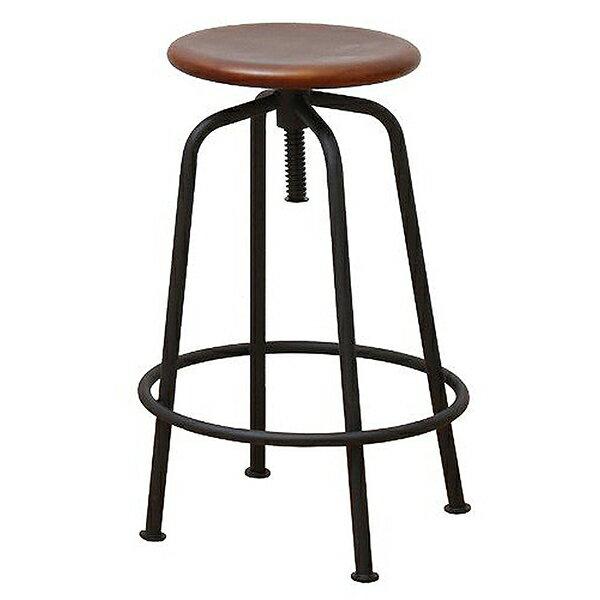 【送料無料】市場 ANS-2389BR アンセム スツール バースツール チェア ハイチェア 椅子 カフェ 高さ調整 ブラウン