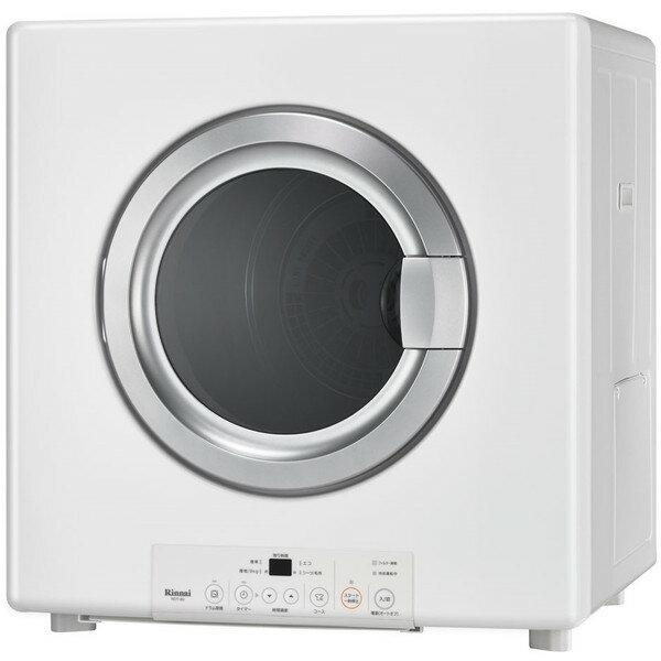 【送料無料】Rinnai RDT-80-13A ピュアホワイト 乾太くん [ガス衣類乾燥機(乾燥容量8.0kg/都市ガス・13A)]