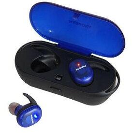 nagaoka ナガオカ BT815SBK スケルトンブルー オートペアリング機能搭載 Bluetooth5.1対応 完全ワイヤレスイヤホン