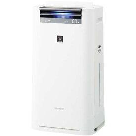 【送料無料】SHARP KI-JS50-W ホワイト系 [空気清浄機 (空気清浄〜23畳/加湿〜15畳)]