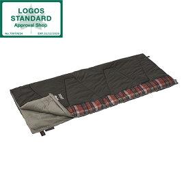 寝袋 シェラフ 封筒型 暖かい 連結 洗える ロゴス(LOGOS) 丸洗いスランバーシュラフ・0 No.72602020 封筒型シュラフ 収納袋付き ハンガーループ