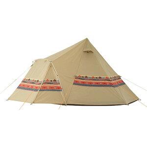 ロゴス LOGOS ティピーテント テント ナバホEX Tepeeリビング400-AI No.71806520 フライシート スクリーンタープ ワンポール タープ キャンプ アウトドア 大型 ファミリー 前室付
