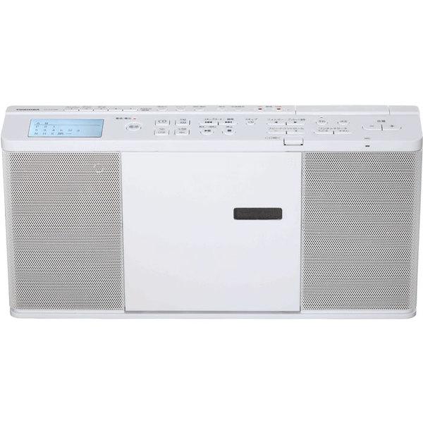 【送料無料】東芝 TY-CX700-W ホワイト [SD/USB/CDラジオ (ワイドFM対応)