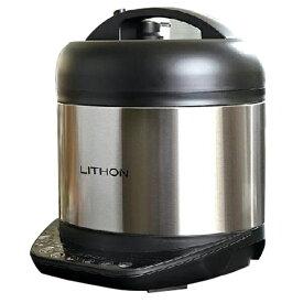 電気圧力鍋 ピーナッツクラブ LITHON 圧力鍋 炊飯器 蒸し器 低温調理 チーズフォンデュ ヨーグルトメーカー 簡単 短時間 時短 おしゃれ かわいい シンプル コンパクト オリジナルレシピ付き 電気 煮込み KLPT-02AB