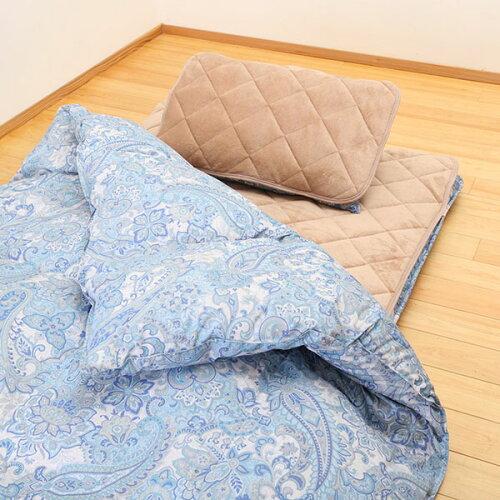 【送料無料】昭和西川TNP羽毛寝具5点セットシングルEBHR283ブルー羽毛セット寝具セット敷布団掛け布団枕敷パッド枕パッドまくらマクラ布団セット新生活引越し