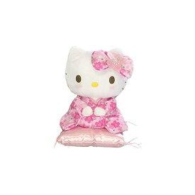 ナカジマコーポレーション ハローキティ 桜着物 ピンク 座りS