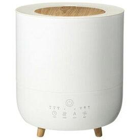 スリーアップ株式会社 ハイブリッド加湿器 ハイブリッド式 加熱+超音波 10畳まで ヒーター シンプル 上部給水式 インテリア ミスト アロマ 衛生 自動運転 ホワイト Fog Mist(フォグミスト) HB-T1953WH