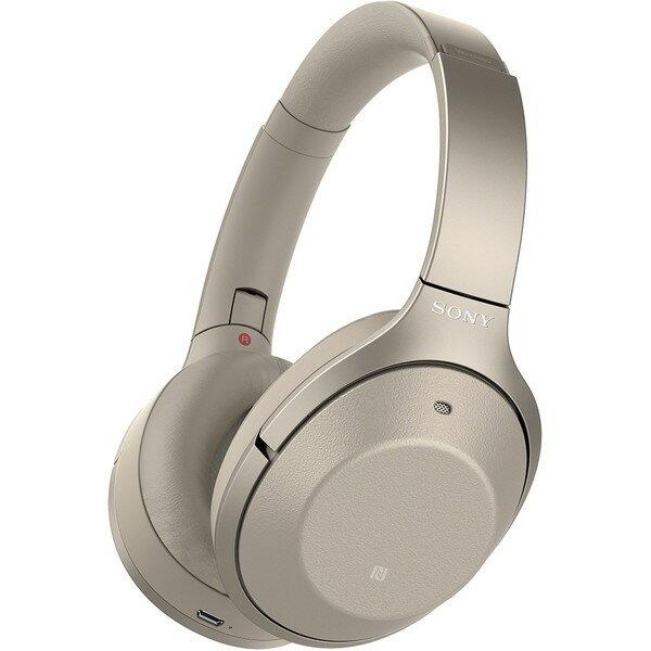 【10月7日発売】 SONY (ソニー) WH-1000XM2 N WH-1000XM2(N) WH-1000XM2-N シャンパンゴールド 金 [ダイナミック密閉型ヘッドホン(Bluetooth対応・ハイレゾ音源対応)] ノイズキャンセリング ワイヤレス アンビエントサウンド ハンズフリー通話 誕生日 贈り物