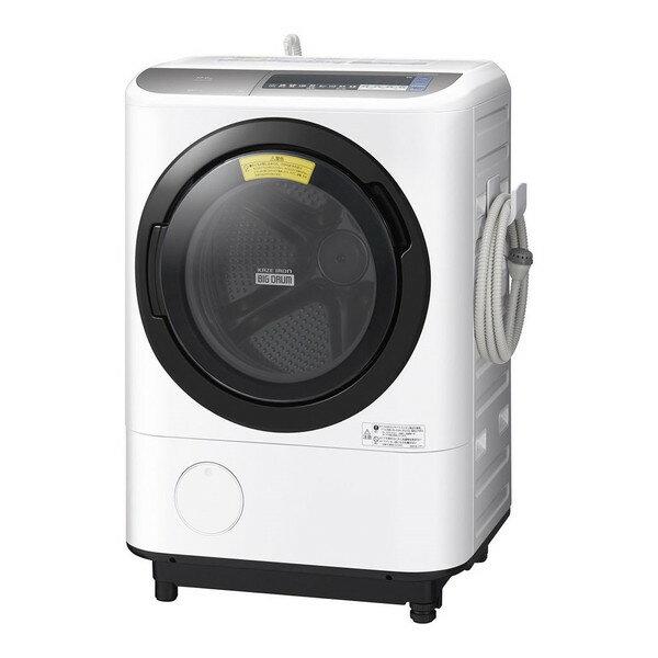 【送料無料】日立 BD-NX120BL(S) ダークシルバー ヒートリサイクル 風アイロン ビッグドラム [ドラム式洗濯乾燥機 (洗濯12.0kg/乾燥6.0kg・左開き)]