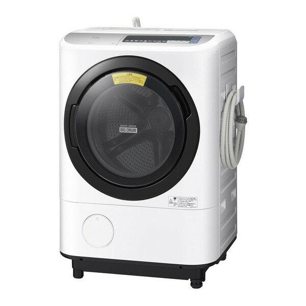 【送料無料】日立 BD-NV110BL(S) シルバー ヒートリサイクル 風アイロン ビッグドラム [ドラム式洗濯乾燥機 (洗濯11.0kg/乾燥6.0kg・左開き)]