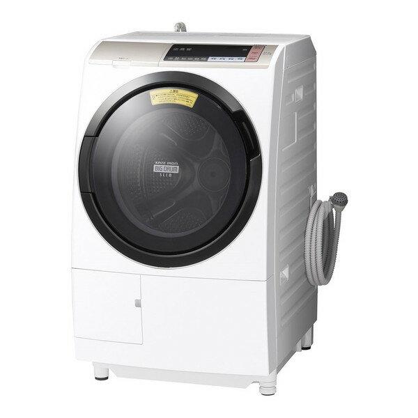 【送料無料】日立 BD-SV110BL(N) シャンパン ヒートリサイクル 風アイロン ビッグドラム [ドラム式洗濯乾燥機 (洗濯11.0kg/乾燥6.0kg・左開き)] BDSV110BLN