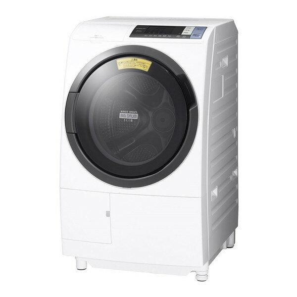 【送料無料】日立 BD-SG100BL(W) ホワイト ヒートリサイクル 風アイロン ビッグドラム [ドラム式洗濯乾燥機 (洗濯10.0kg/乾燥6.0kg・左開き)]