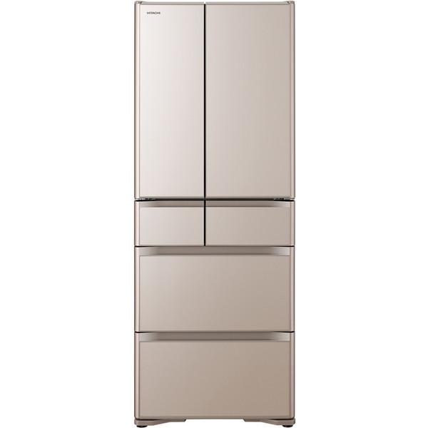 【送料無料】日立 R-XG5100H(XN) クリスタルシャンパン 真空チルド XGシリーズ [冷蔵庫(505L・フレンチドア)]