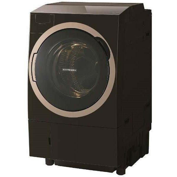 【送料無料】東芝 TW-117X6L(T) グレインブラウン ZABOON [ななめ型ドラム式洗濯乾燥機 (11.0kg) 左開き]