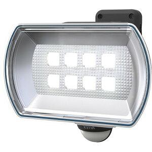 ムサシ LED-150 RITEX [フリーアーム式LED乾電池センサーライト 4.5W ワイド]