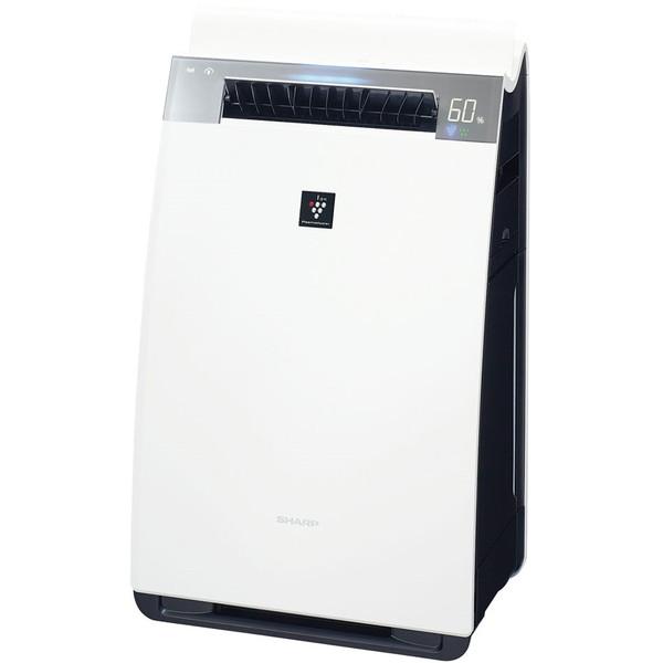 【送料無料】SHARP KI-HX75-W ホワイト系 [加湿空気清浄機 (空清34畳まで/加湿21畳まで)]
