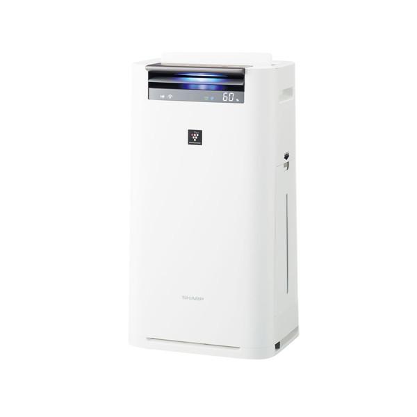 【送料無料】SHARP KI-HS50-W ホワイト系 [空気清浄機 (空気清浄〜23畳/加湿〜15畳)]