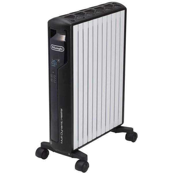 【送料無料】デロンギ(Delonghi) MDH15WIFI-BK ピュアホワイト+マットブラック [マルチダイナミックヒーター Wi-Fiモデル(10〜13畳まで)]