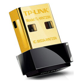 TP-LINK TL-WN725N [Wifi 無線LAN子機 (11n/11g/b デュアルモード対応モデル)] TLWN725N