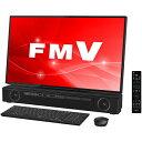【送料無料】富士通 FMVFXC3B オーシャンブラック ESPRIMO FHシリーズ [デスクトップパソコン 27型ワイド液晶 HDD3TB …