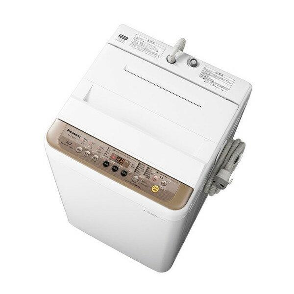 【送料無料】パナソニック PANASONIC NA-F70PB11 新生活 一人暮らし カップル 同棲ブラウン [全自動洗濯機 (洗濯7.0kg)]