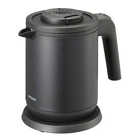 TIGER PCK-A080-KM マットブラック 蒸気レスわく子 [電気ケトル (0.8L)]