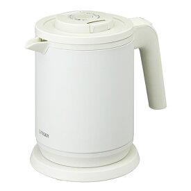TIGER PCK-A080-WM マットホワイト 蒸気レスわく子 [電気ケトル (0.8L)]