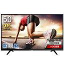 3000円クーポン 本日20時〜24時 テレビ 4K 50インチ 50型 4K対応 液晶テレビ 送料無料 メーカー1,000日保証 HDR対応 …