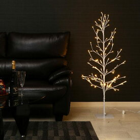 不二貿易 16652 LEDブランチツリー 120 W/スイッチ [クリスマスツリー 120cm]