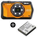 RICOH WG-6 オレンジ + バッテリー [コンパクトデジタルカメラ(2000万画素)]