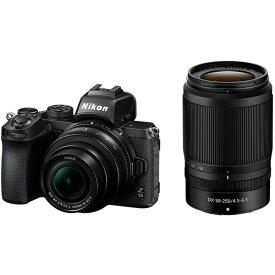 Nikon Z 50 ダブルズームキット [デジタルミラーレス一眼カメラ (2088万画素)]