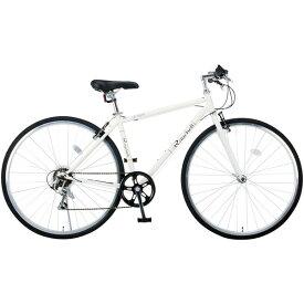 【送料無料】Raychell CR-7007R ホワイト (35653) [クロスバイク (700×28C・シマノ7段変速)] 【同梱配送不可】【代引き・後払い決済不可】【沖縄・北海道・離島配送不可】