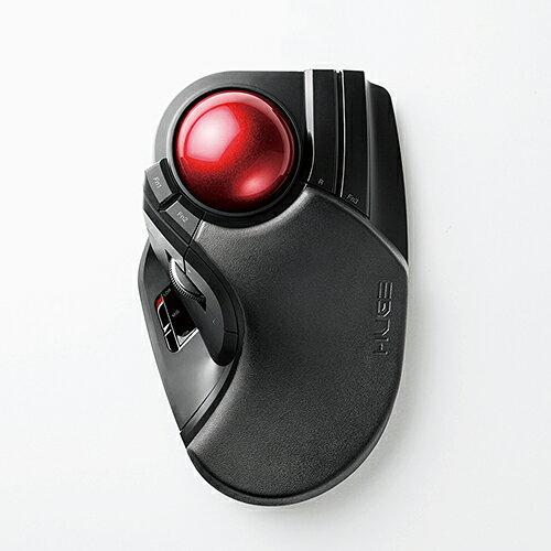 【送料無料】ELECOM M-HT1DRBK ブラック [トラックボールマウス 大玉 8ボタン チルト機能 無線]