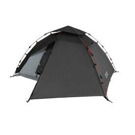 DOD T2-275 ブラック [ライダーズワンタッチテント (大人2名用 )] アウトドア ツーリング キャンプ 軽量 簡単 グランドシート付属